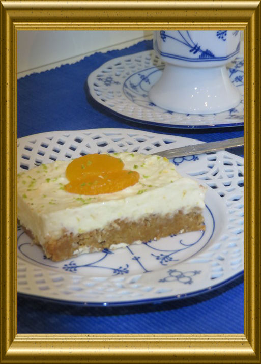 Philadelphia Torte Mit Mandarinencreme Ohne Backen