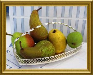 Birnen aus der Taraland Lehrküche