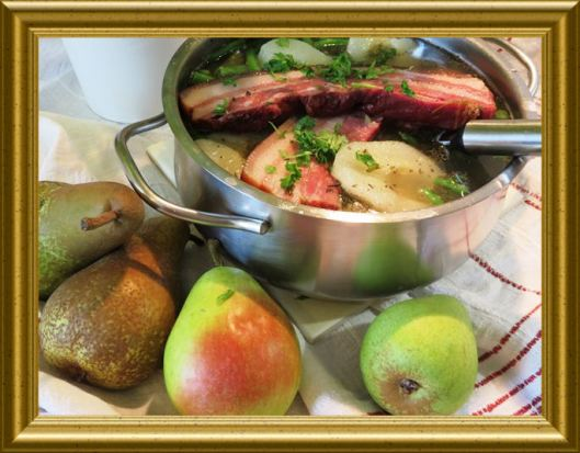 Birnen-Bohnen-Speck aus der Taraland Lehrküche