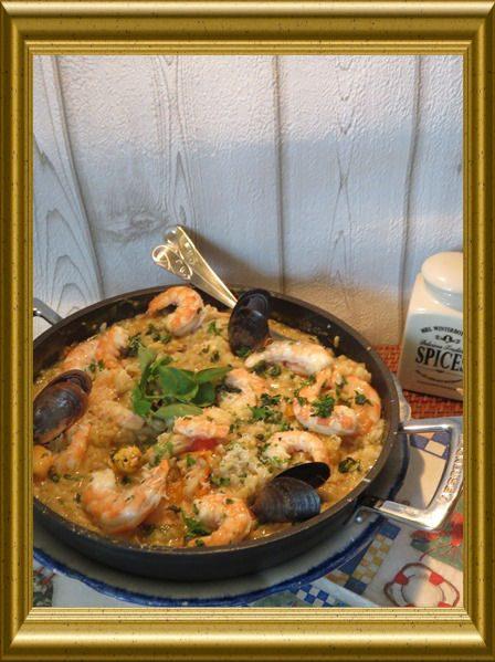 Meeresfrüchte Risotto aus der Taraland Lehrküche