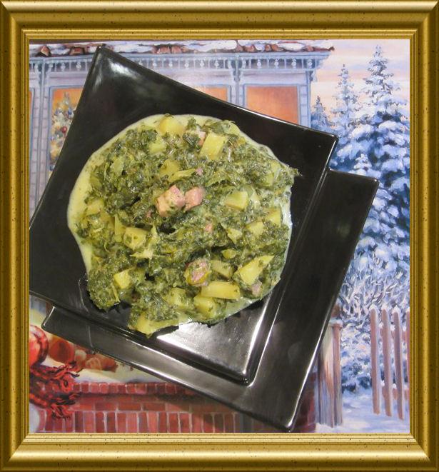 Grünkohleintopf mit Kassler aus der Taraland Lehrküche