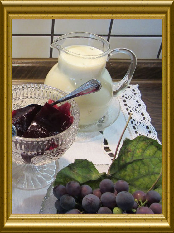 Weintrauben-Gelee-Würfel aus der Taraland Lehrküche