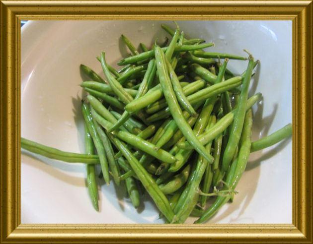 Grüne Bohnen aus der Taraland Lehrküche