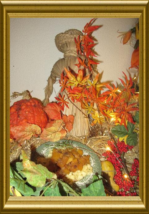 Kürbis-Pilz-Gemüse mit Nudeln aus der Taraland Lehrküche