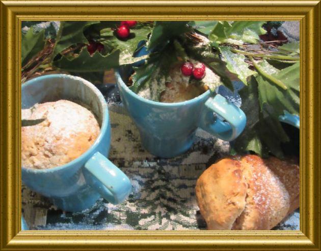 Panettone aus der Tasse aus der Taraland Lehrküche