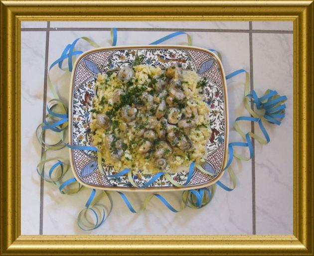 Champignon-Spätzle-Pfanne aus der Taraland Lehrküche