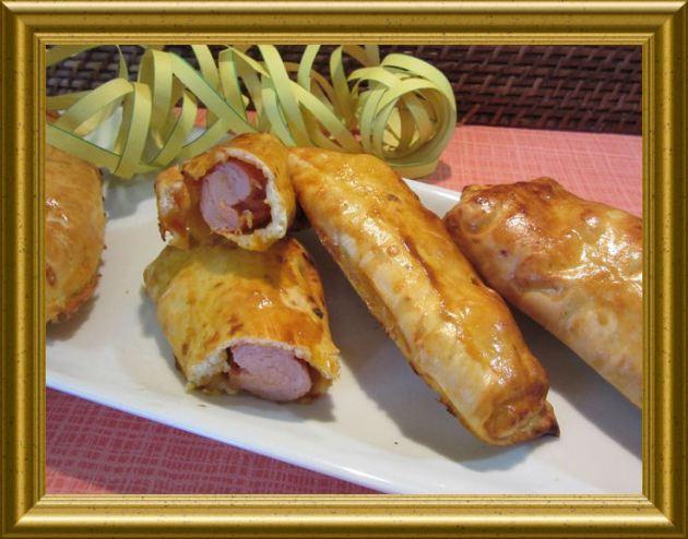 Currywurst Rolls aus der Taraland Lehrküche