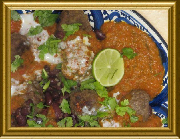 Fleischbällchen mit Bulgur á la Chili con Carne aus der Taraland Lehrküche