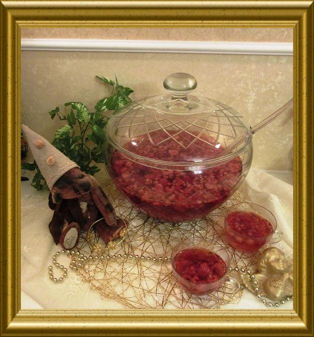 Himbeer Bowle aus der Taraland Lehrküche