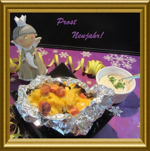 HotDog Kartoffeln mit Sauerkraut aus der Taraland Lehrküche