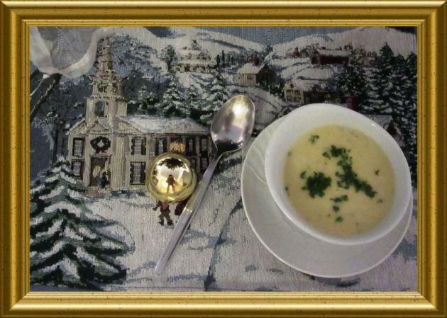 Kartoffelsuppe mit Vanille aus der Taraland Lehrküche