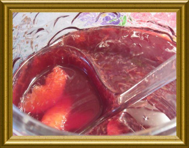 Blutorangen Bowle aus der Taraland Lehrküche