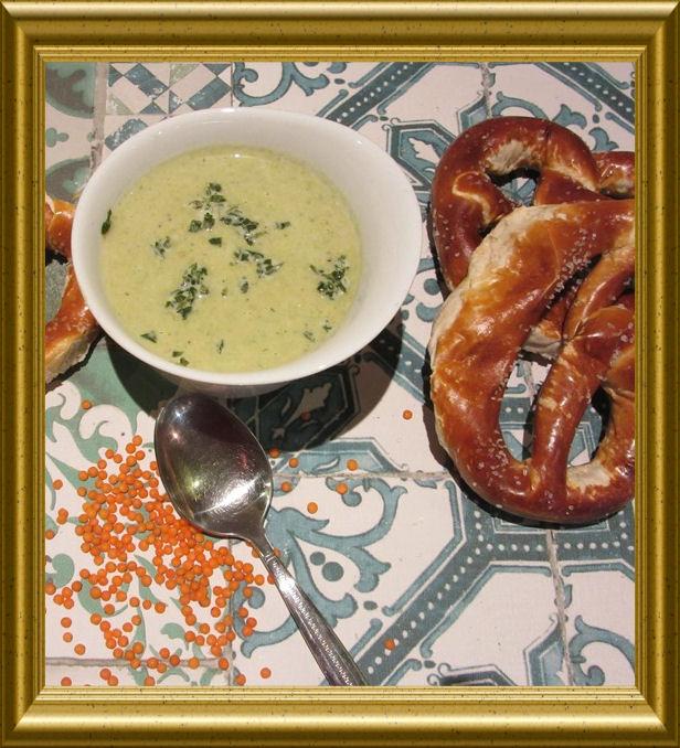 Lauch-Linsen-Suppe aus der Taraland Lehrküche