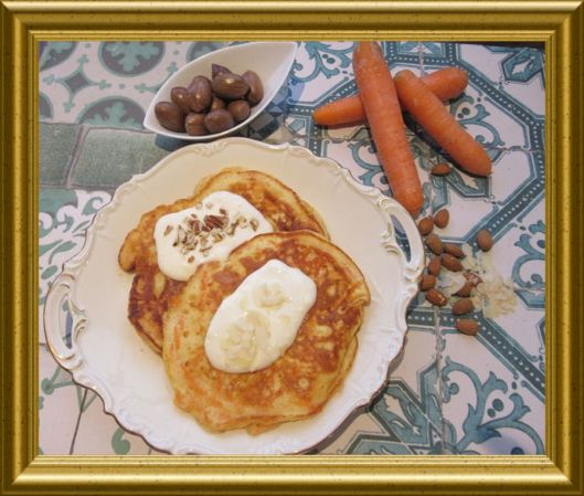 Möhren-Pancakes aus der Taraland Lehrküche