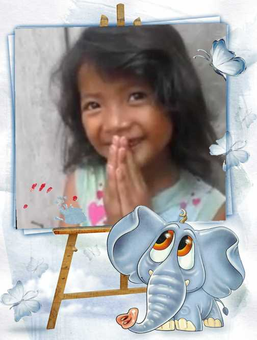 Meng Chou mein Patenkind aus Kambodscha